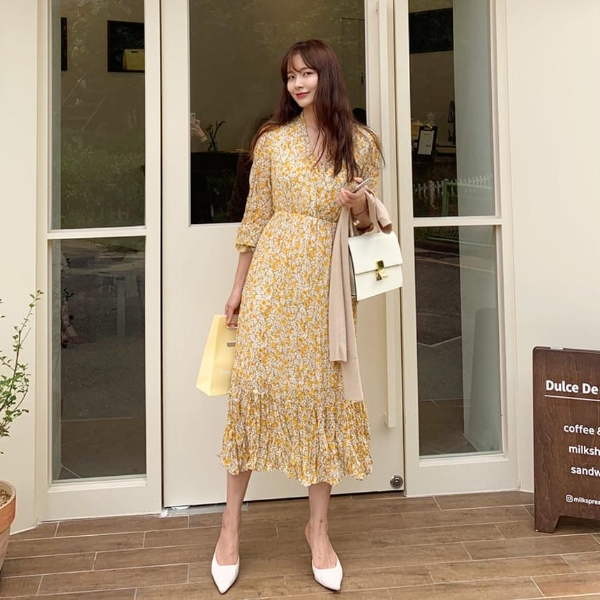 Juicy Flowering Long Dress