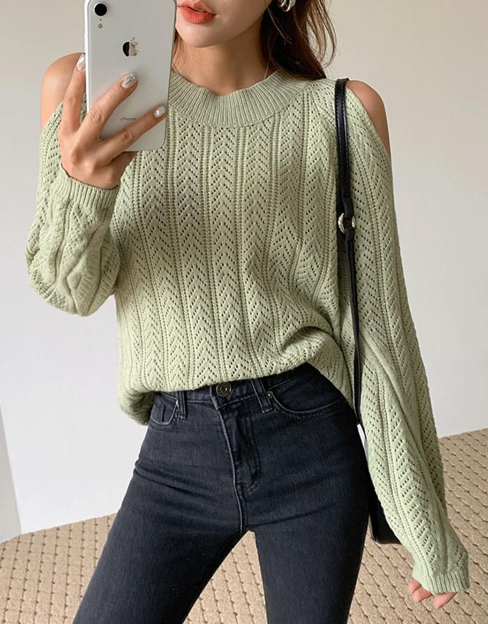 Eve Shoulder Knit