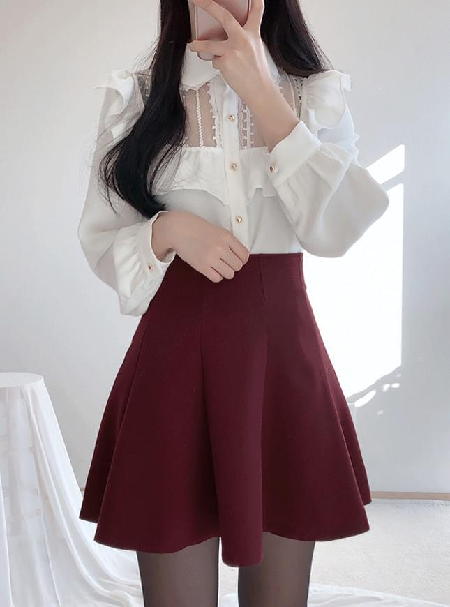 Tangled lace blouse