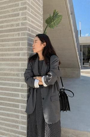 Mare Boyfriend Fit Wool Jacket