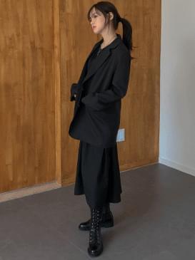 루즈핏 페이브 싱글자켓(입고지연 10월21일 입고)