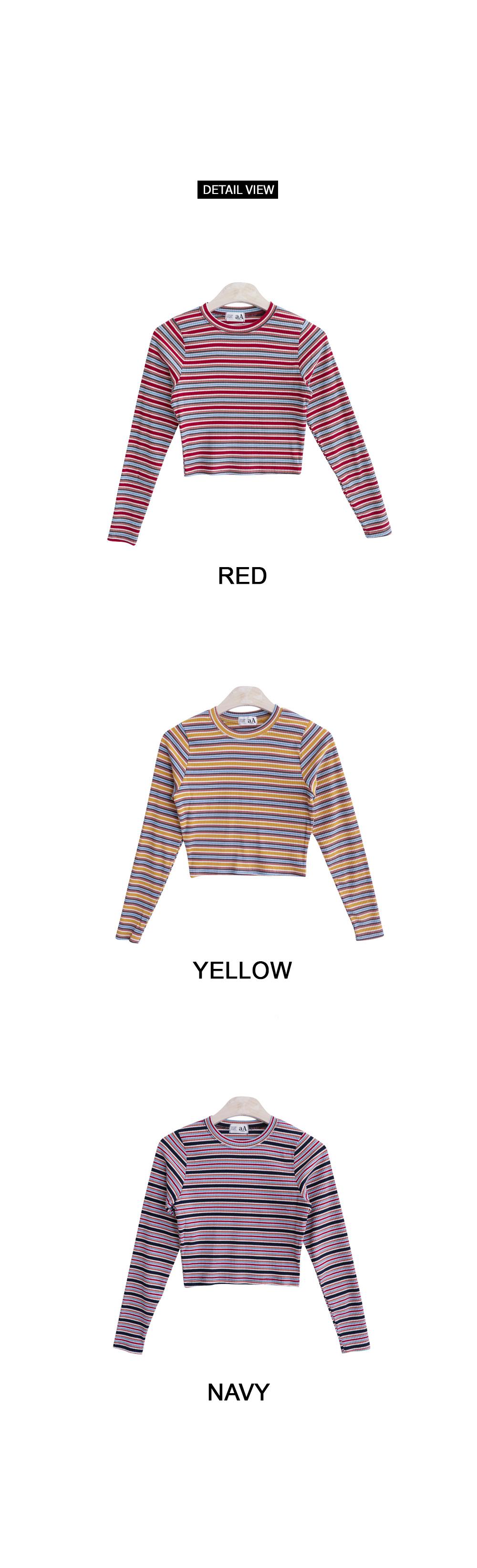 Caramel striped T-shirt