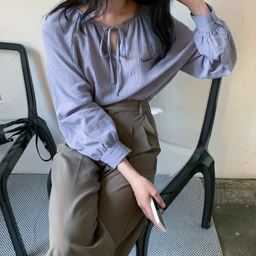 Soda ribbon blouse