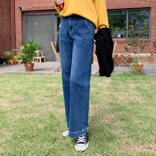 Nine Wide Bootcut Denim Pants