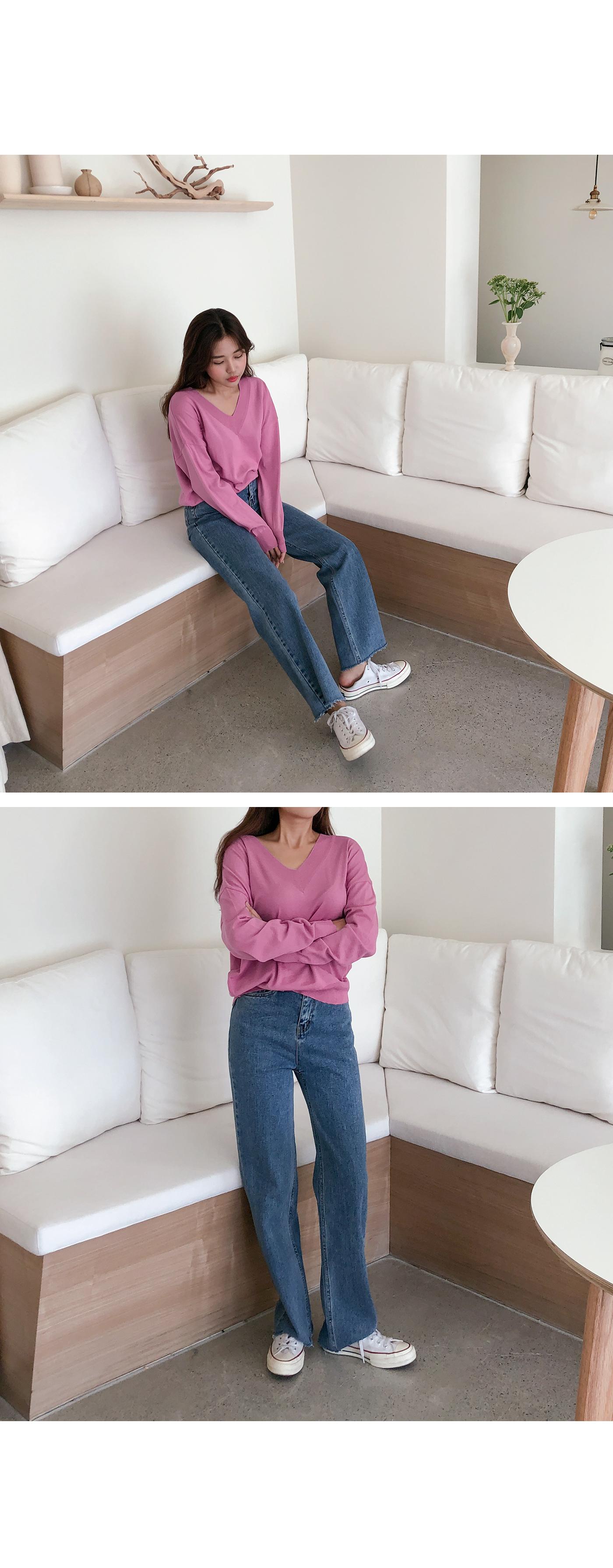 House V Knit
