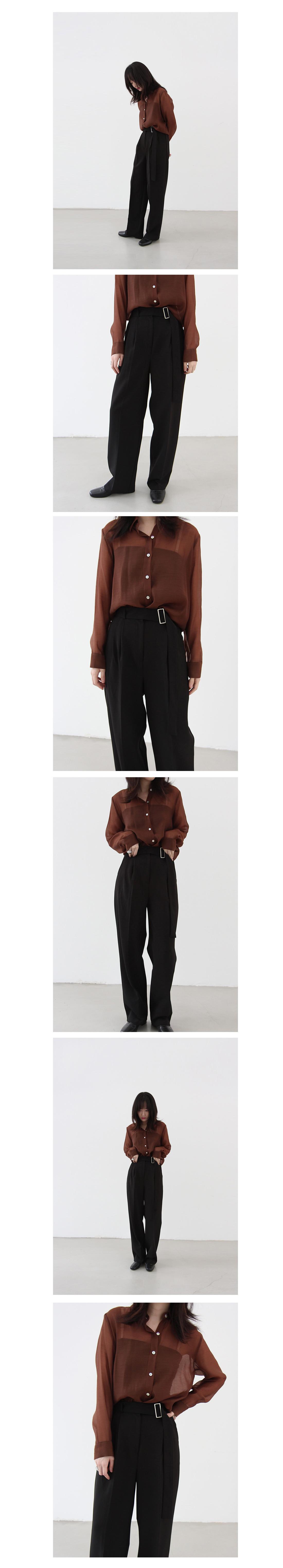 Belt slacks