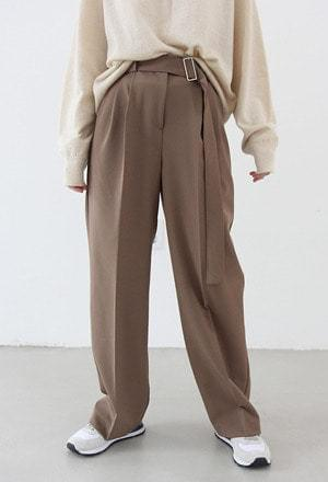 Belt slacks