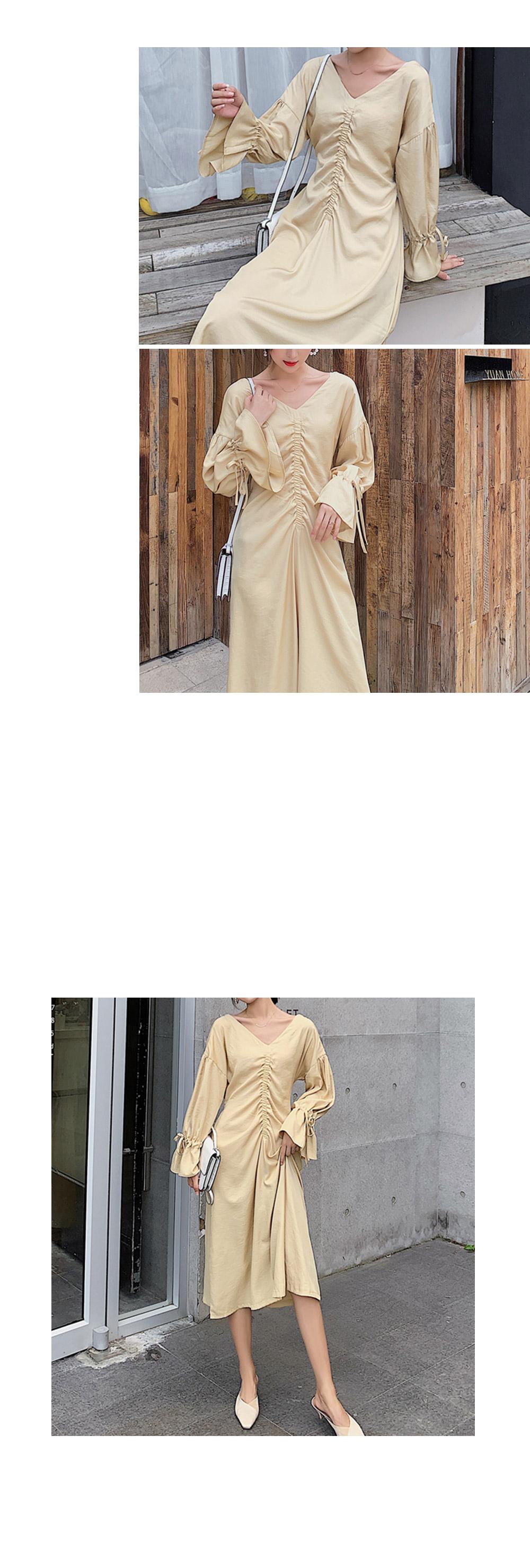 Throat String Dress