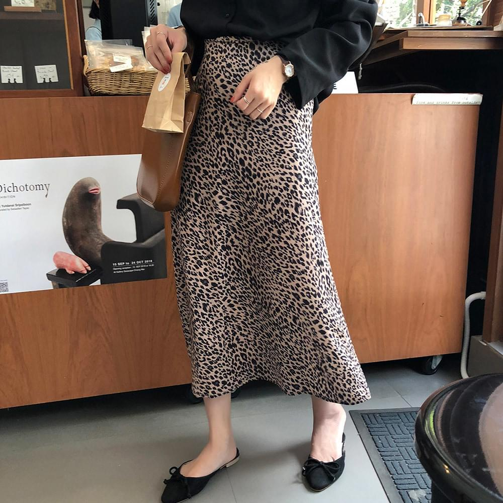 Infly Leopard Skirt