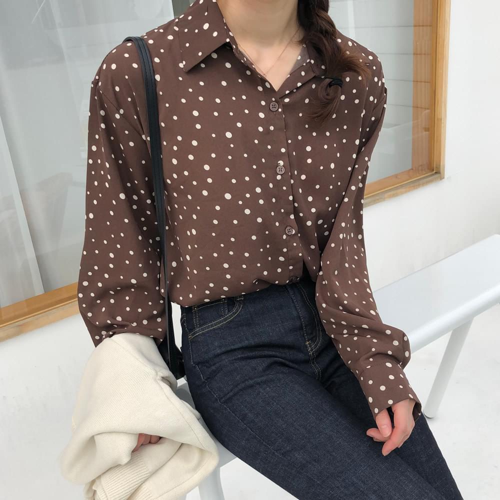 Minimalist Dot Shirt