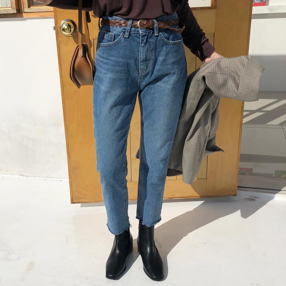 Momojin blue straight pants