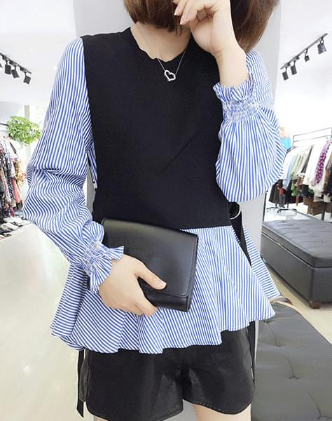 Grasha knit blouse