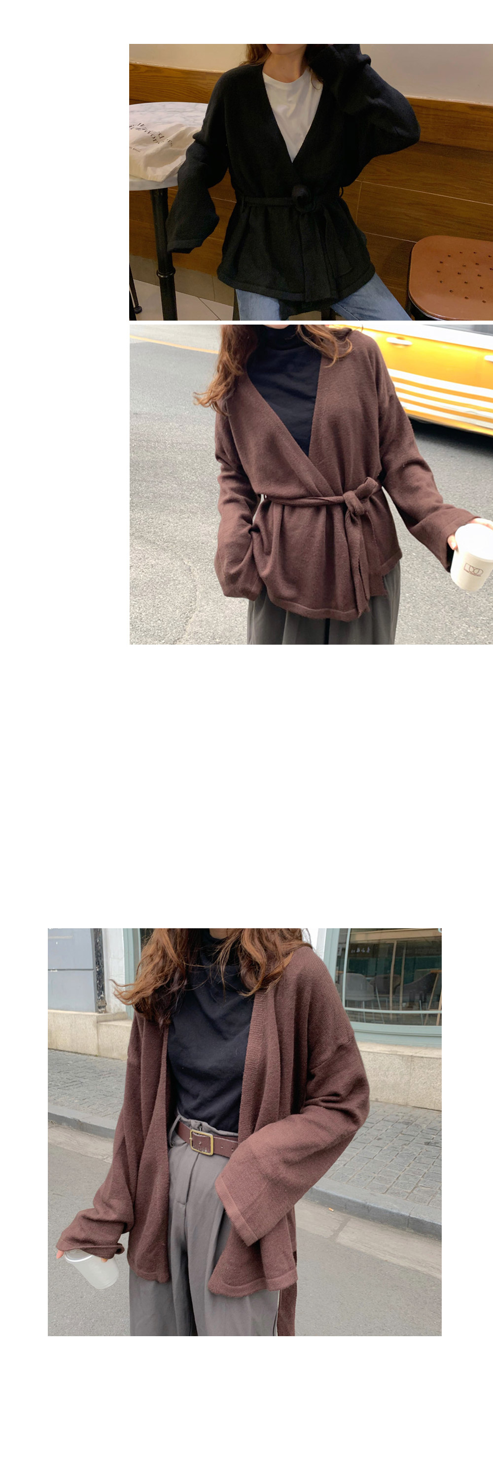 Lorif wrap cardigan