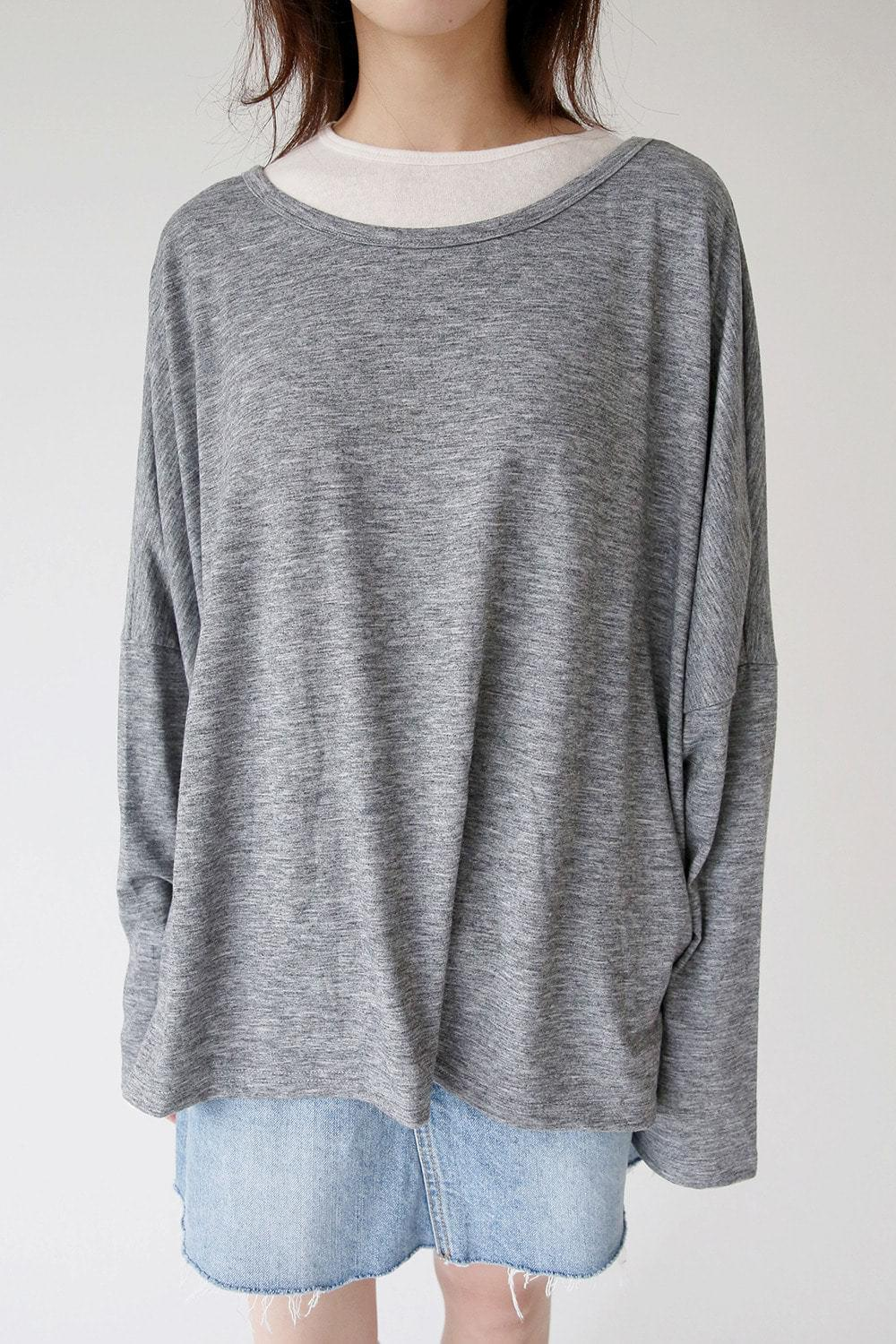 basic loose fit tee (3colors)
