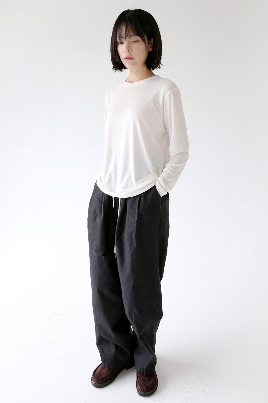 maxi string cotton pants (3colors)