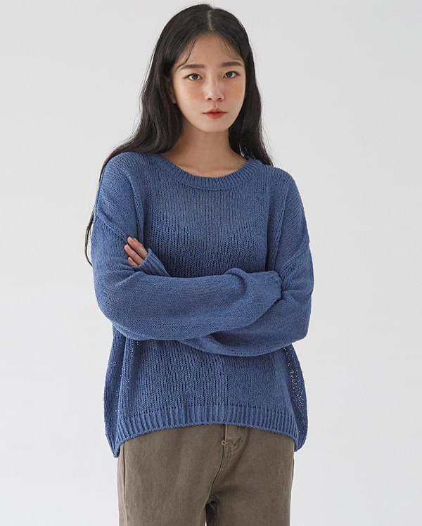 mojave buckle knit