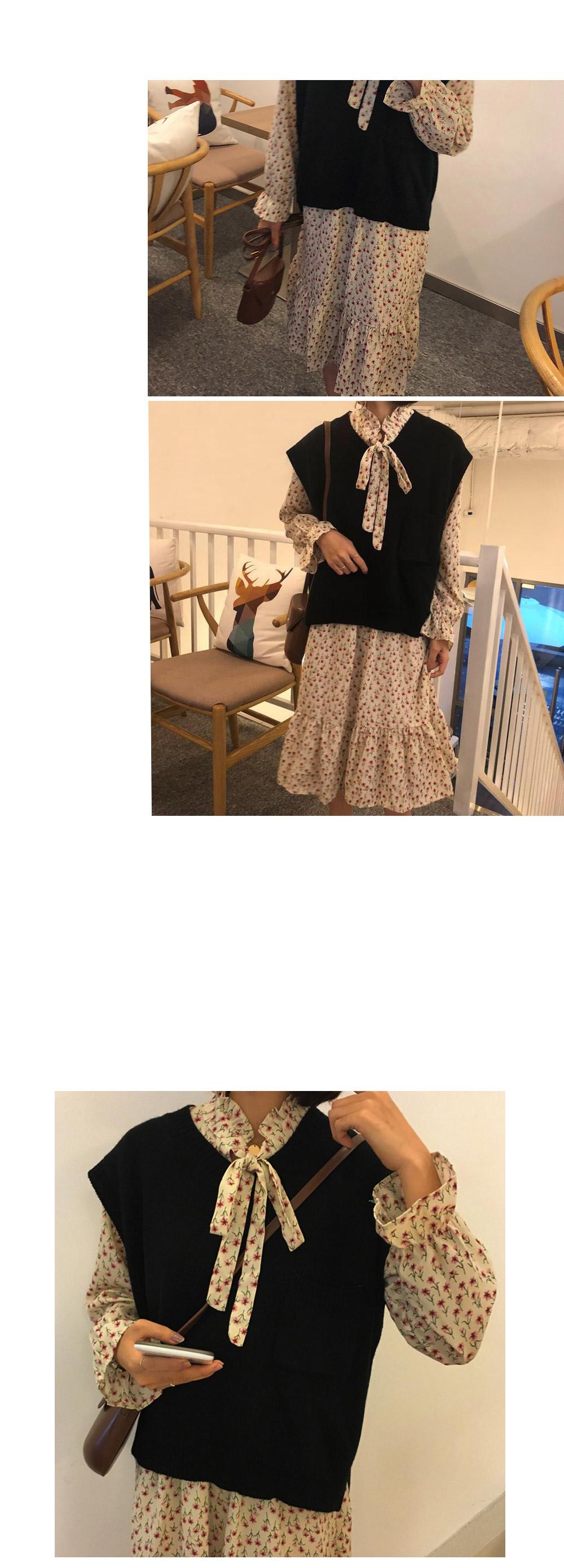 Lonna frill flower dress