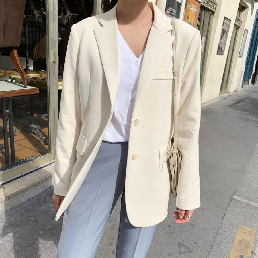 Steady Cream Jacket