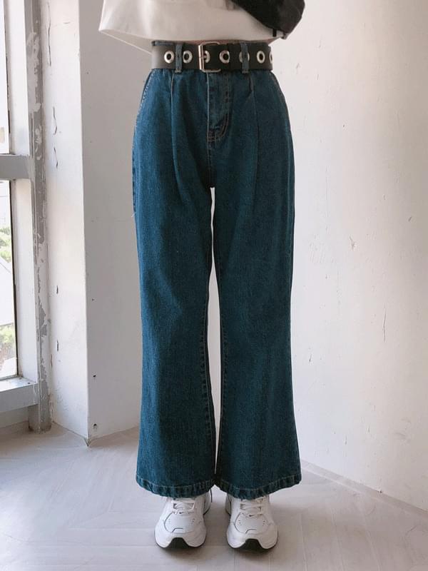 Tug wide bootcut denim pants