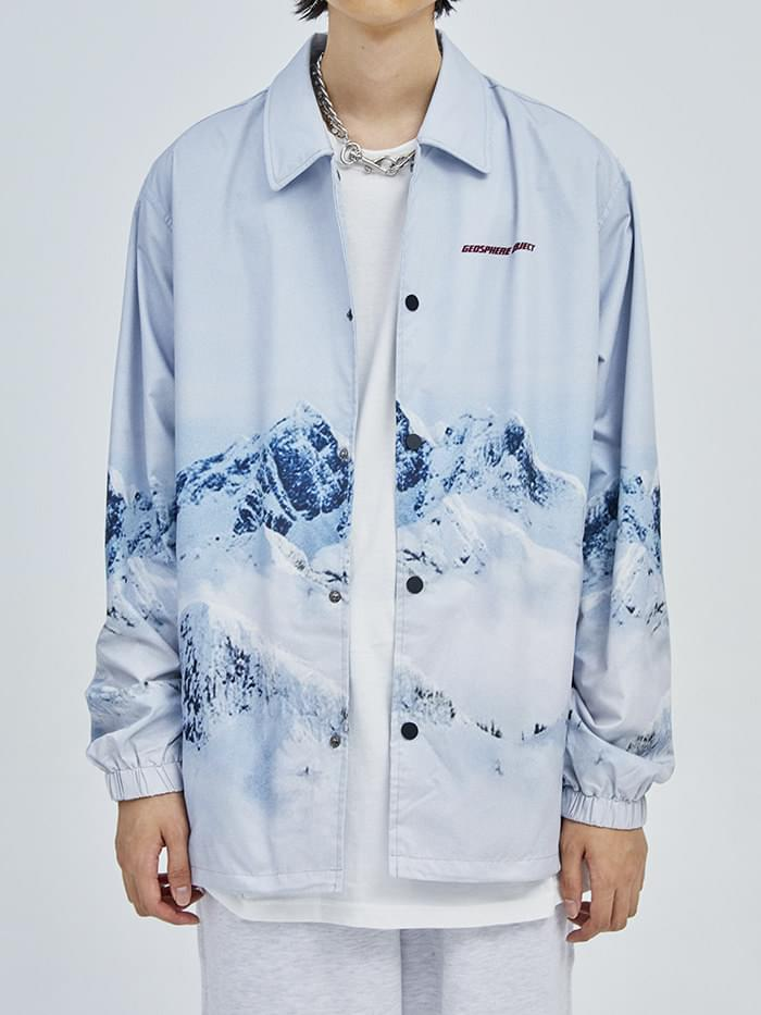 GEOSPHERE OBJECT coach jacket - men
