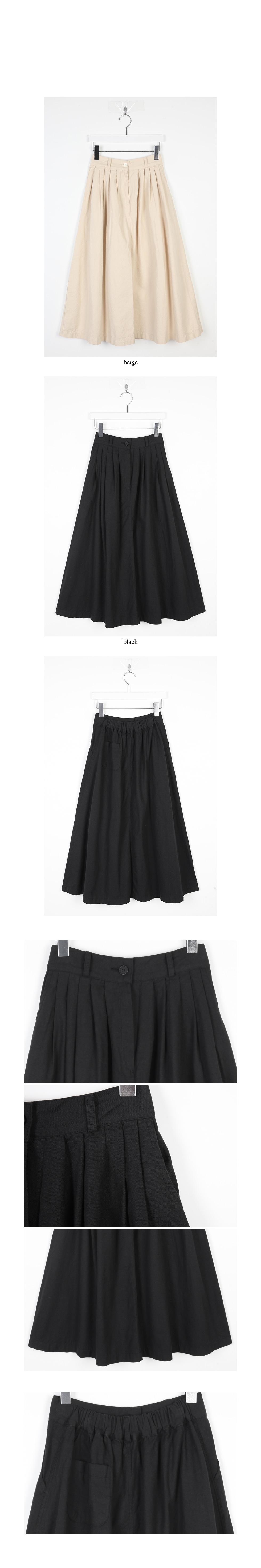 pintuck detail cotton skirts