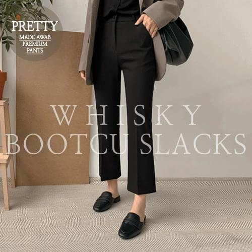 FW Whiskey Boots Cut Slacks