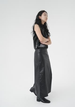 luster maxi H-line skirt