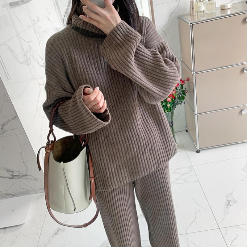 Somemore knit set
