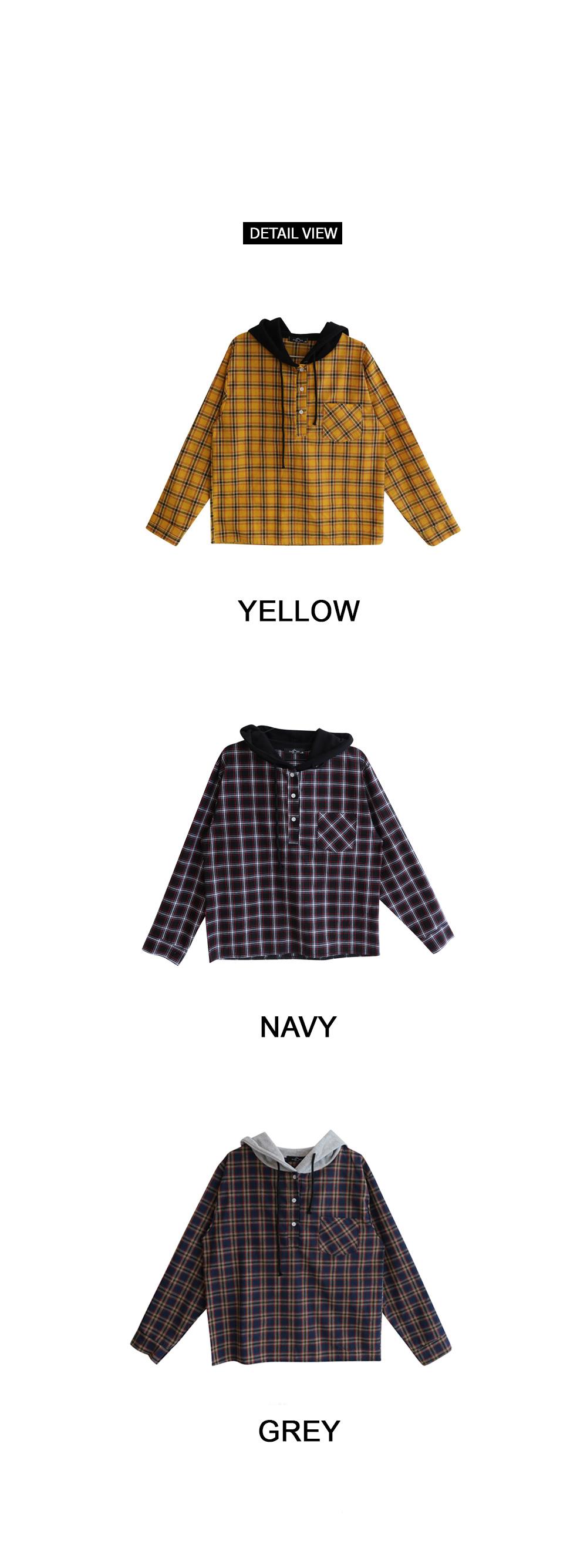 Wing Hood Check Southern Shirt