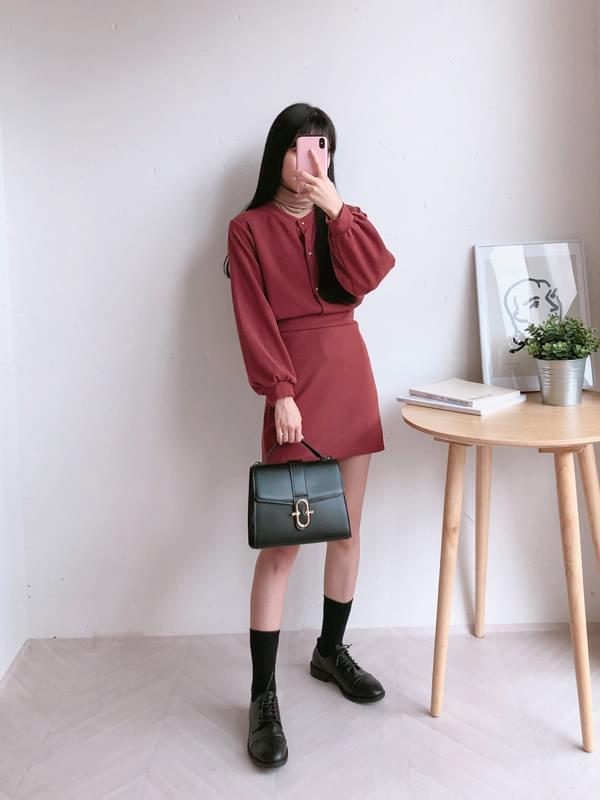 Morning Cardigan Skirt SET
