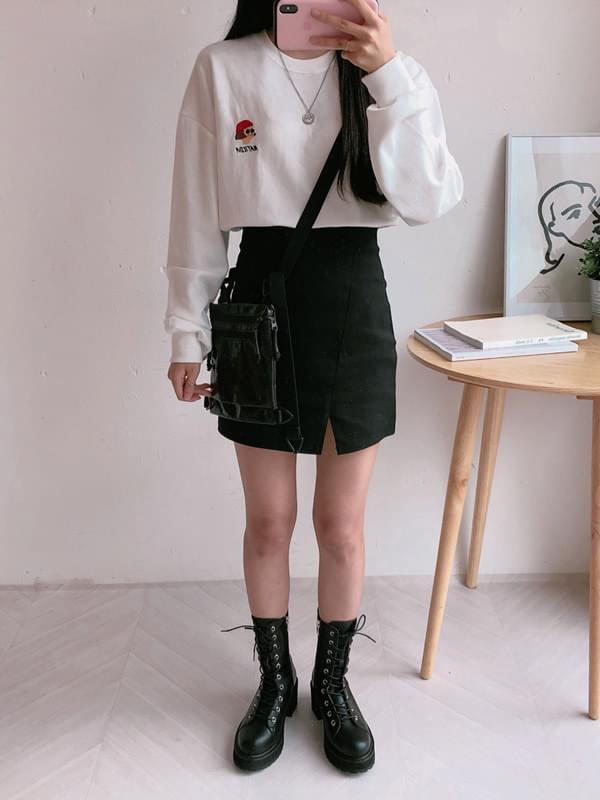 Picme trim skirt