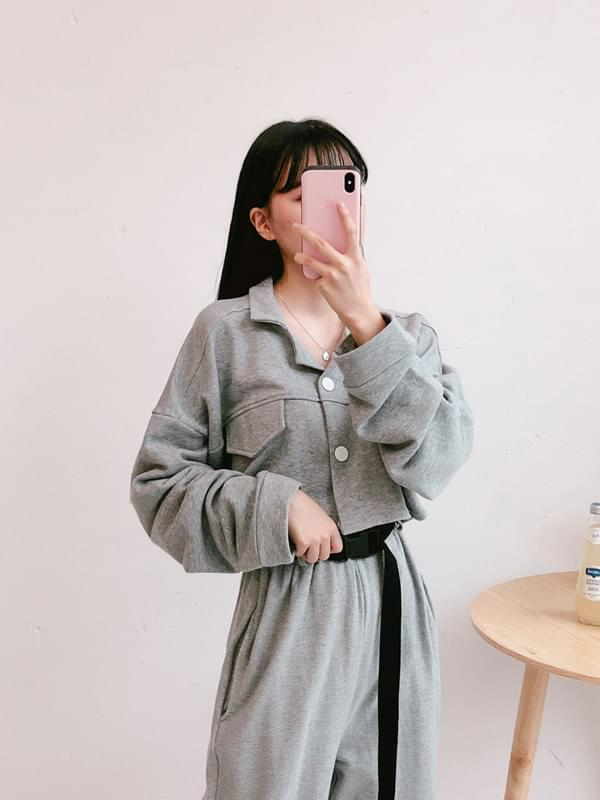 Cotton sunny cropped jacket
