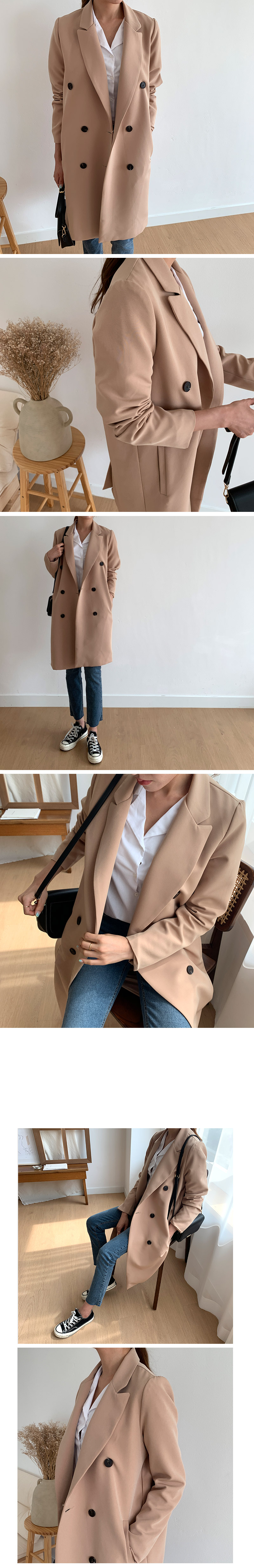 Double Meet Basic Coat