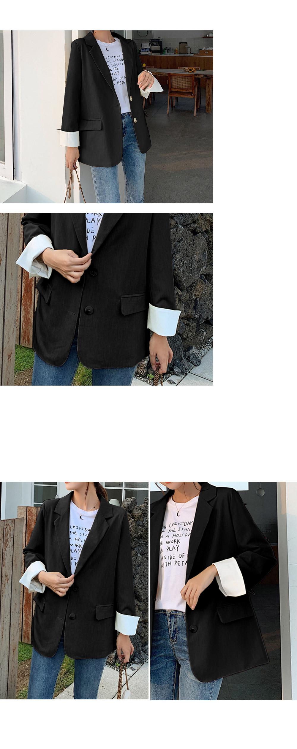 Roll-Up Color Basic Jacket