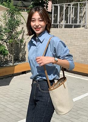 Mani color cotton shirt