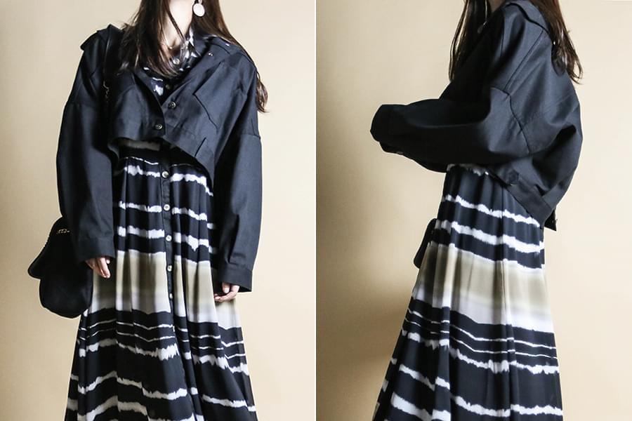 Avant-garde pocket cropped jacket_jk03378