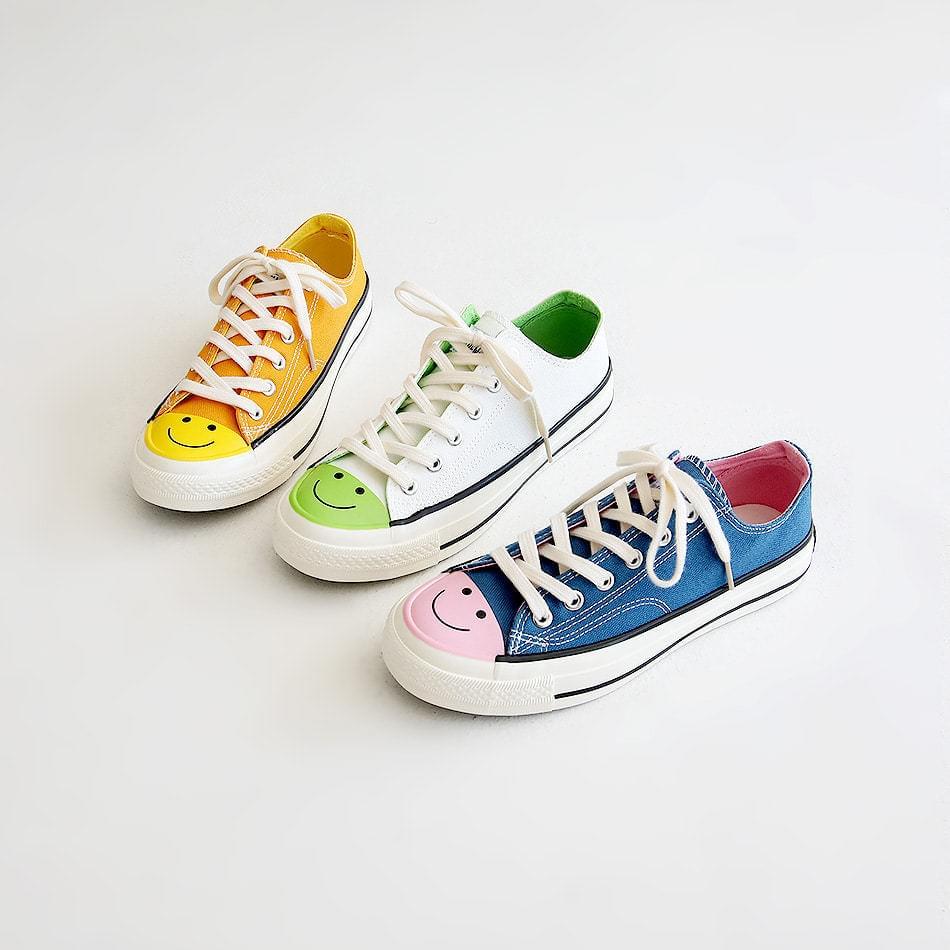 Smile sneakers 2cm