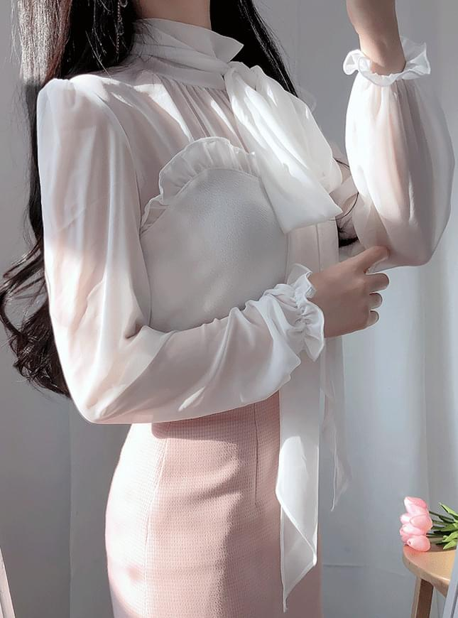 Shave sheer scarf