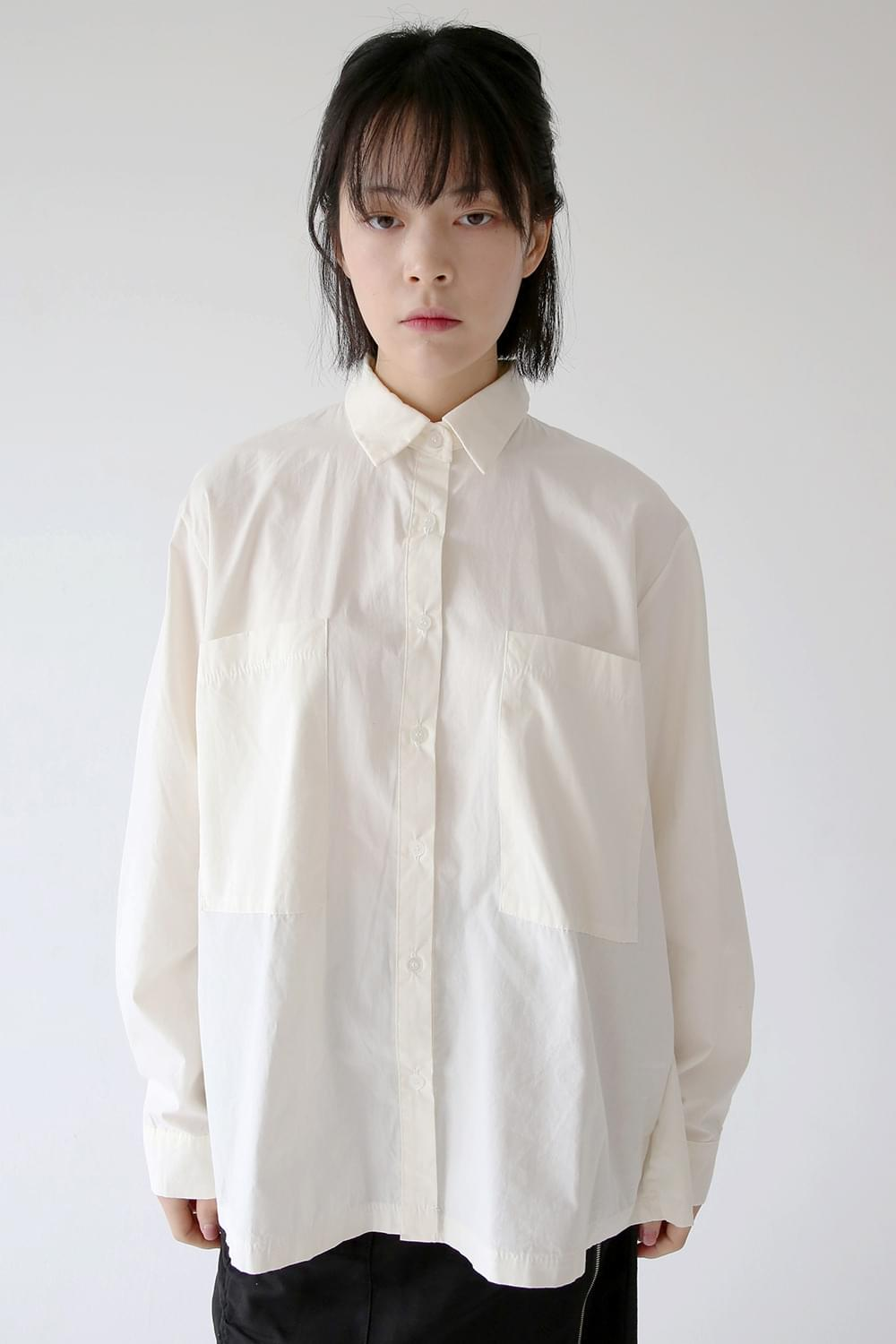 two pocket clean shirts (3colors)