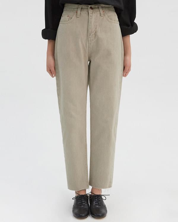 catch on denim pants (s, m)