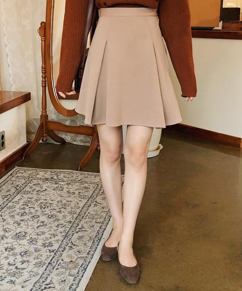 Fluffy high waist skirt