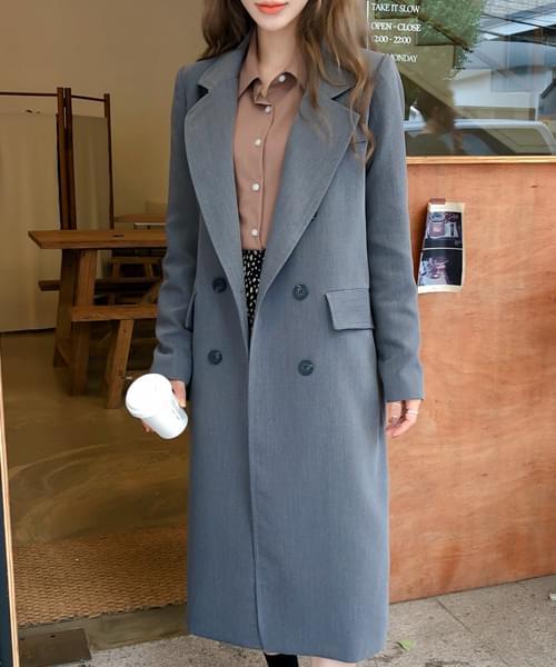 Double Date Fit Coat