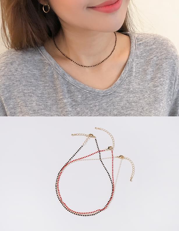 Unix beads necklace