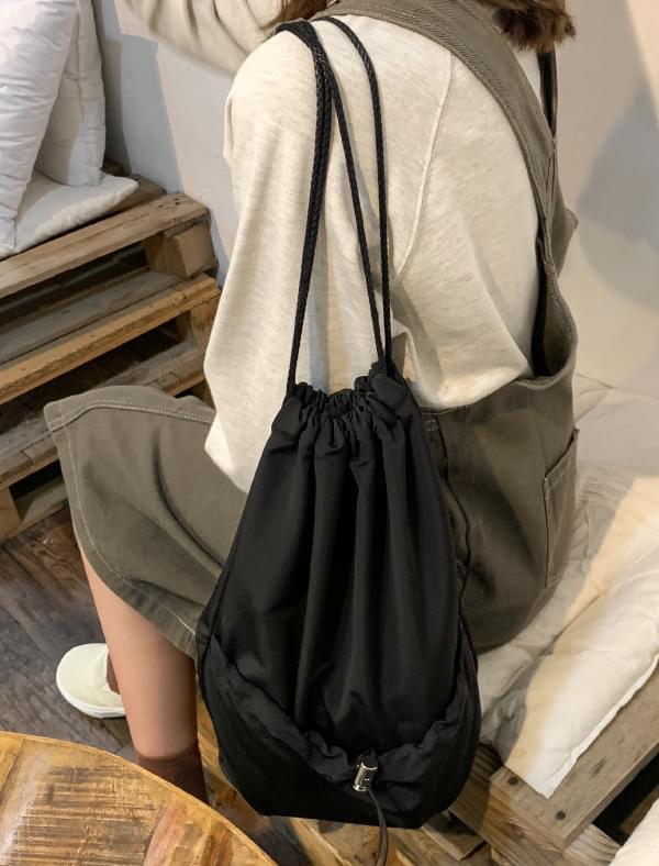 casual mood string bag