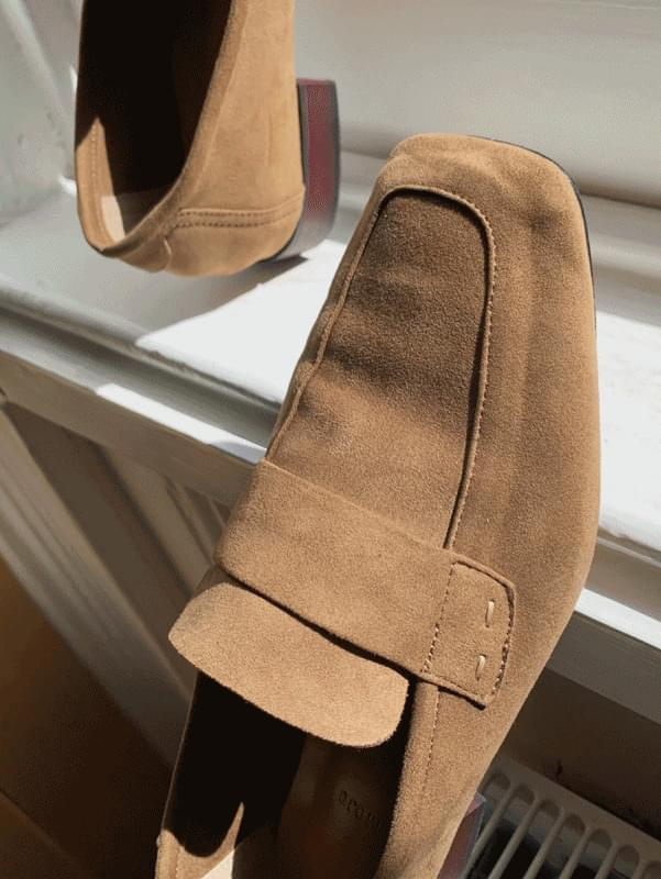 Stitch loafers