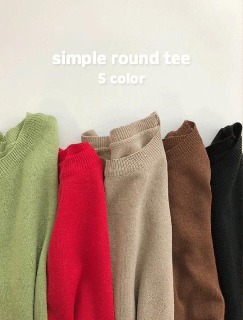 Simple round knit _Y