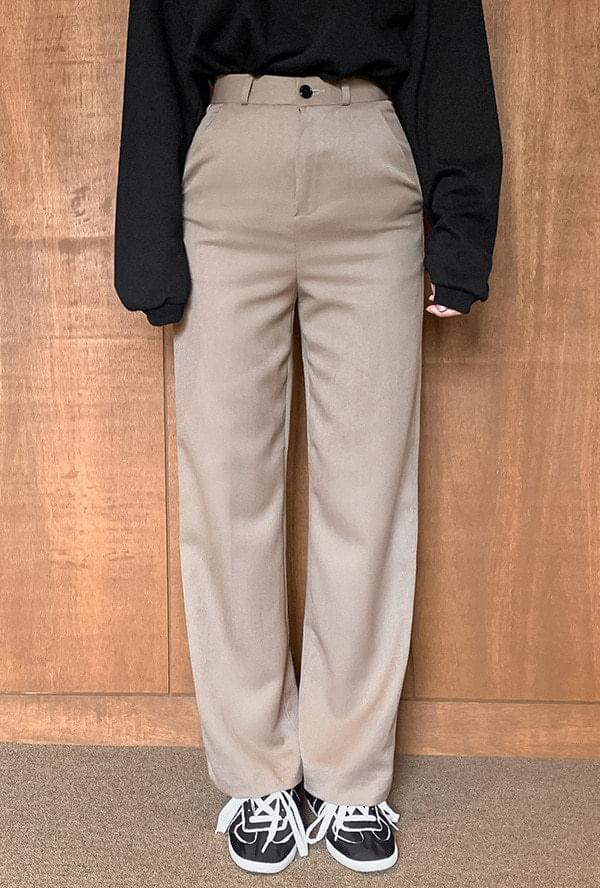 Slim Wide Slacks