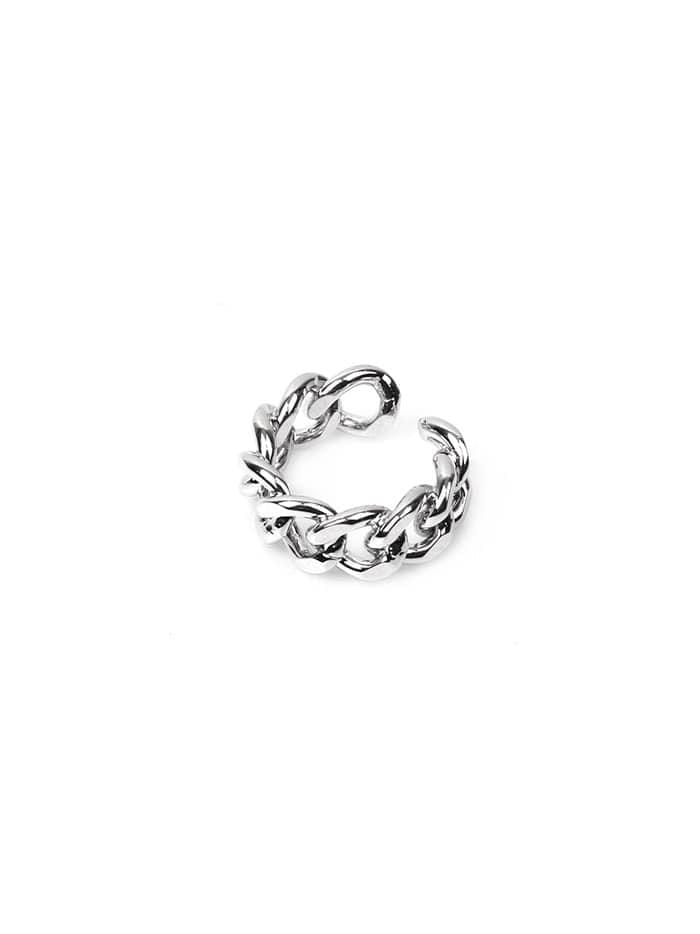 glossy chain ring (2 color)