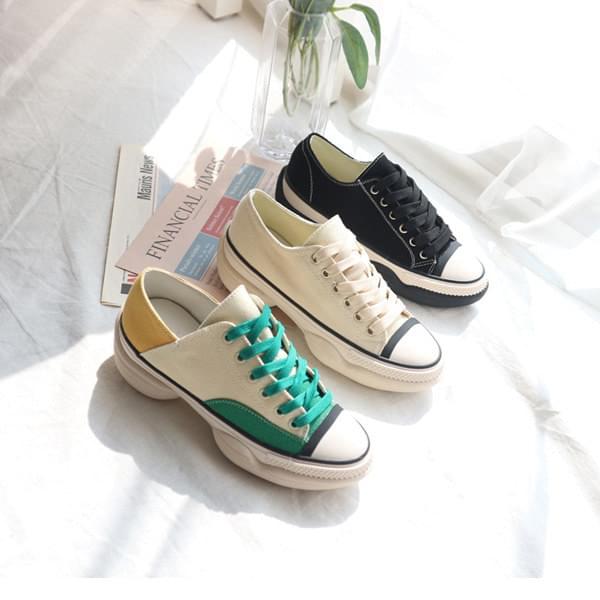 LINE Low-top Sneaker 5cm