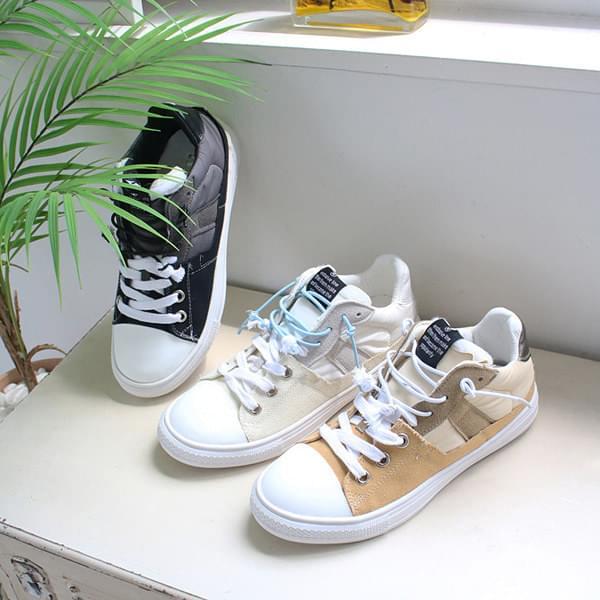 Vintage string sneakers